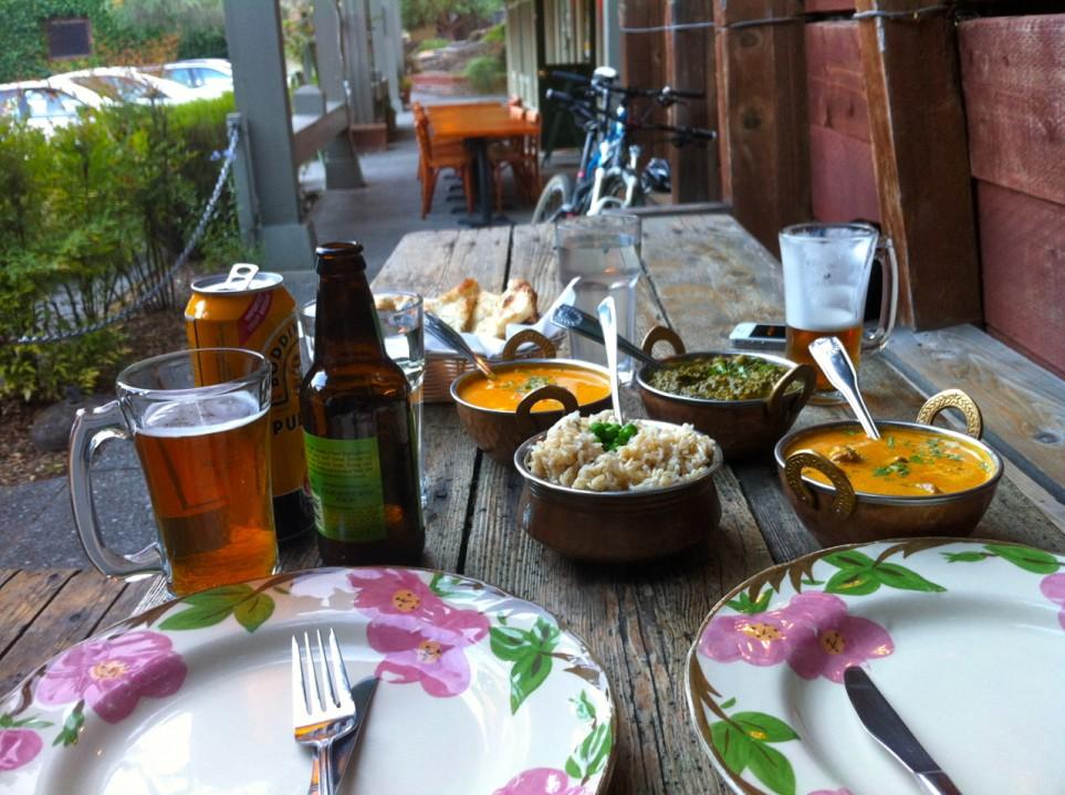indian food in lagunitas