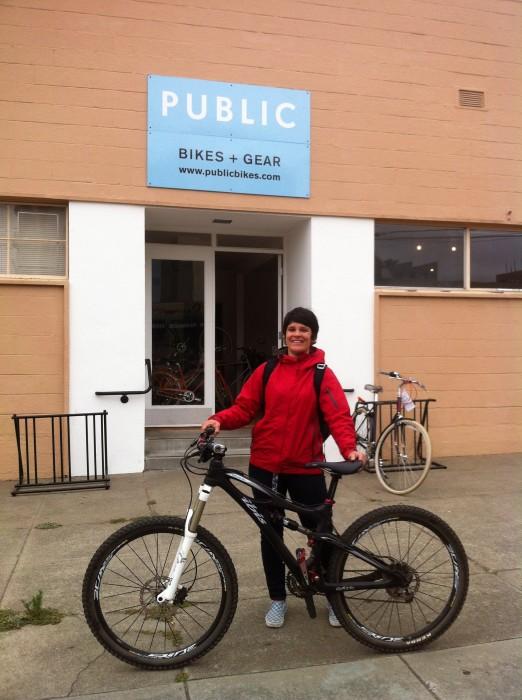 Bike hero Jillian Betterly