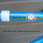 Spotted in Portland: Stolen De Rosa Track Bike