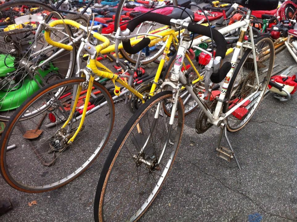 flea market bicycles