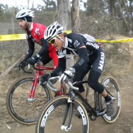 Garrett at the Pilarcitos CX Race: Coyote Point