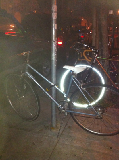 We hope this Miyata stayed safe and sound!