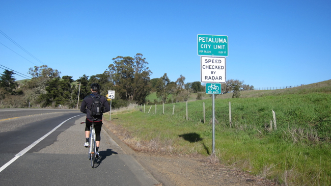 petaluma city limit