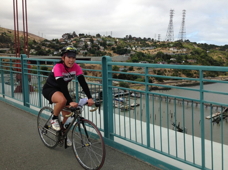 Crossing the Carquinez Bridge