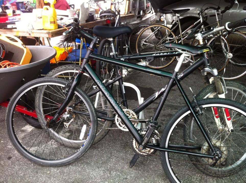 laney college flea market bicycles